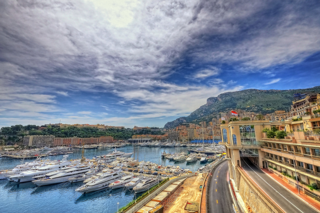 Monaco Monte Carlo City Harbor
