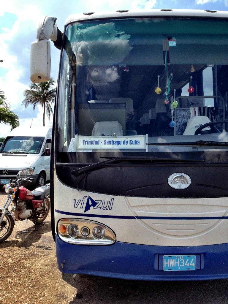 küba-trinidad-otobüs