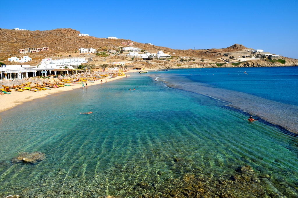 Mykonos Gezi Seyahat Rehberi Paradise Beach Plaj