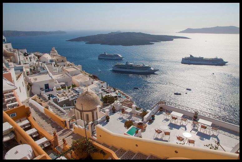 Santorini Gezi Rehberi | Vizesiz Yunan Adaları Turu
