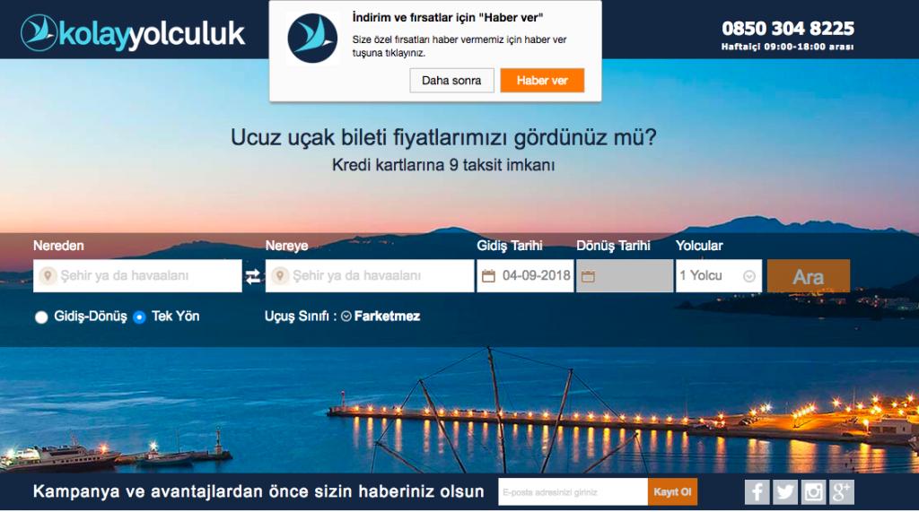 Uçak Bileti Satın Alma - KolayYolculuk.com